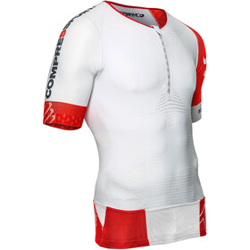 Compressport TR3 Aero Triathlon-paita, white